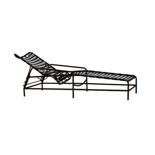 Picture of KANTAN ALUMINUM ADJUSTABLE CHAISE, VINYL LACE