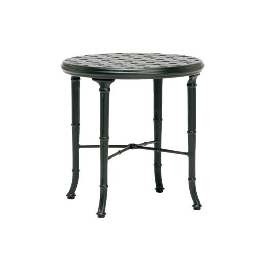 "Picture of CALCUTTA 20"" ROUND CAST TOP OCCASIONAL TABLE"