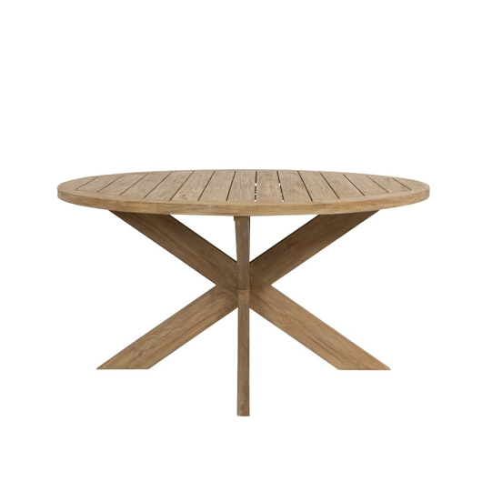 "Picture of COASTAL TEAK 56"" ROUND DINING TABLE"