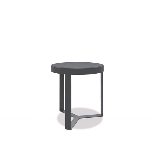 "Picture of 18"" HONED GRANITE ROUND END TABLE"