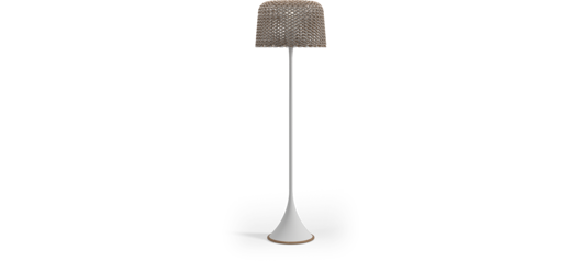 Picture of AMBIENT MESH TALL LANTERN (WHITE / SORREL)