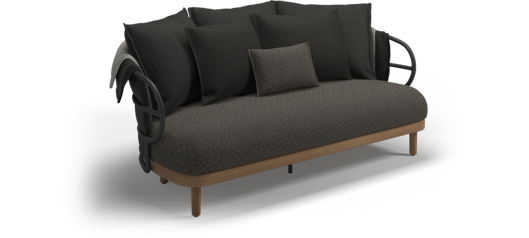 Picture of DUNE 2-SEATER SOFA (METEOR / COMBINATION 1)