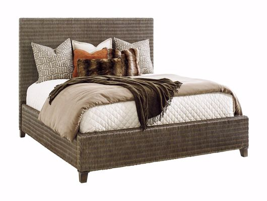 Picture of DRIFTWOOD ISLE WOVEN PLATFORM BED