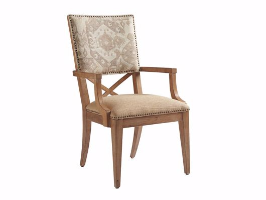 Picture of ALDERMAN UPHOLSTERED ARM CHAIR