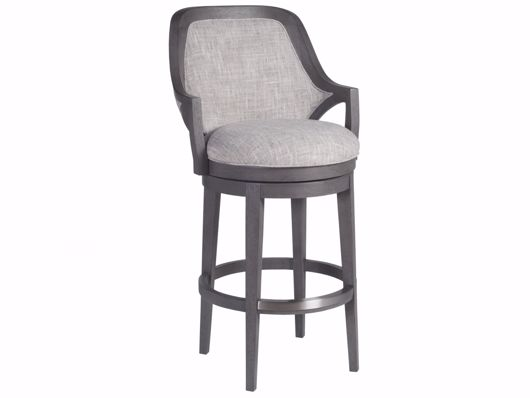 Picture of APPELLATION UPHOLSTERED SWIVEL BARSTOOL